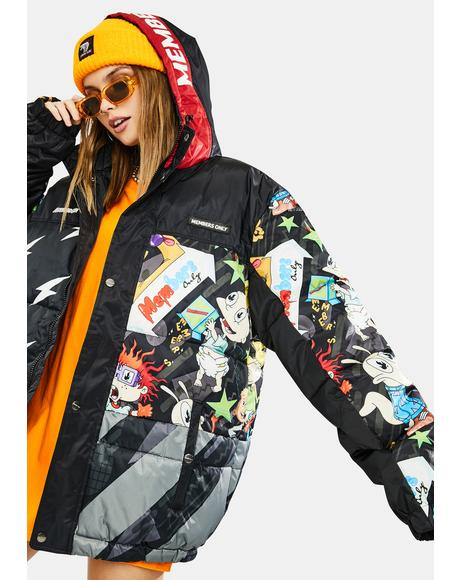 Nickelodeon Puffer Jacket
