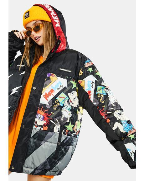 Nickelodeon Puffer Jacket