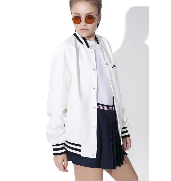 Members Only Bleeker Varsity Jacket
