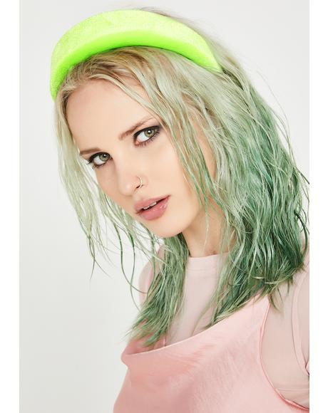 Glow Girl Velvet Headband