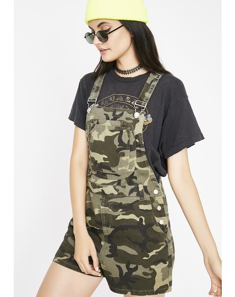 Lead The Way Camo Shortalls