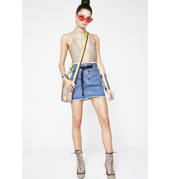 Can't Resist Denim Skirt
