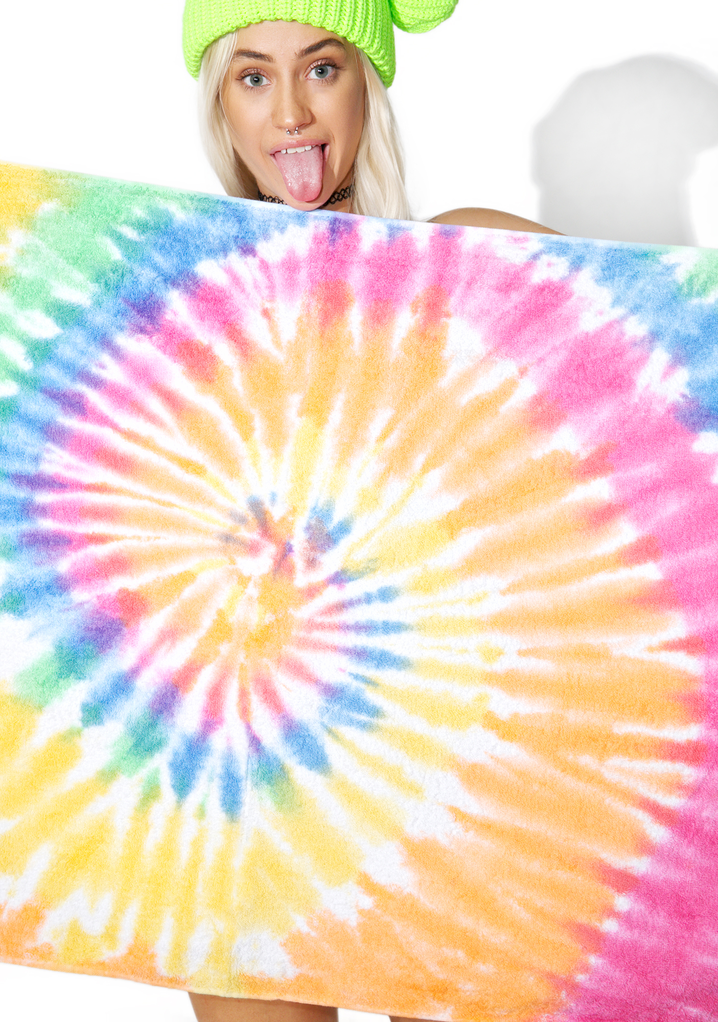 Eternity Tie Dye Beach Towel