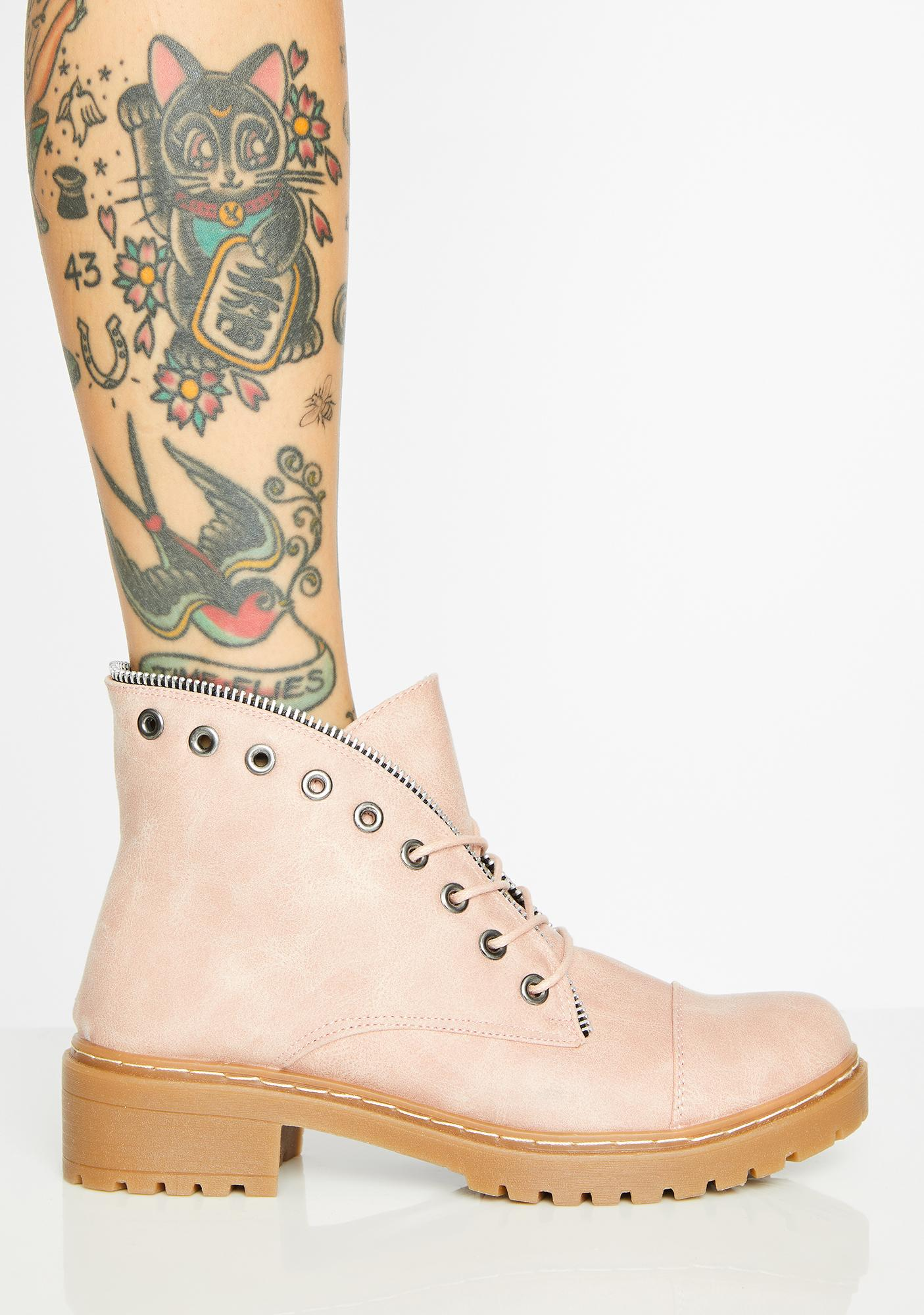 Sweet Sneak Attack Ankle Boots