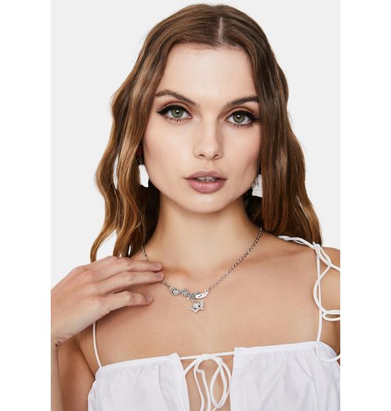 Holy Hot Stuff Angel Pendant Necklace