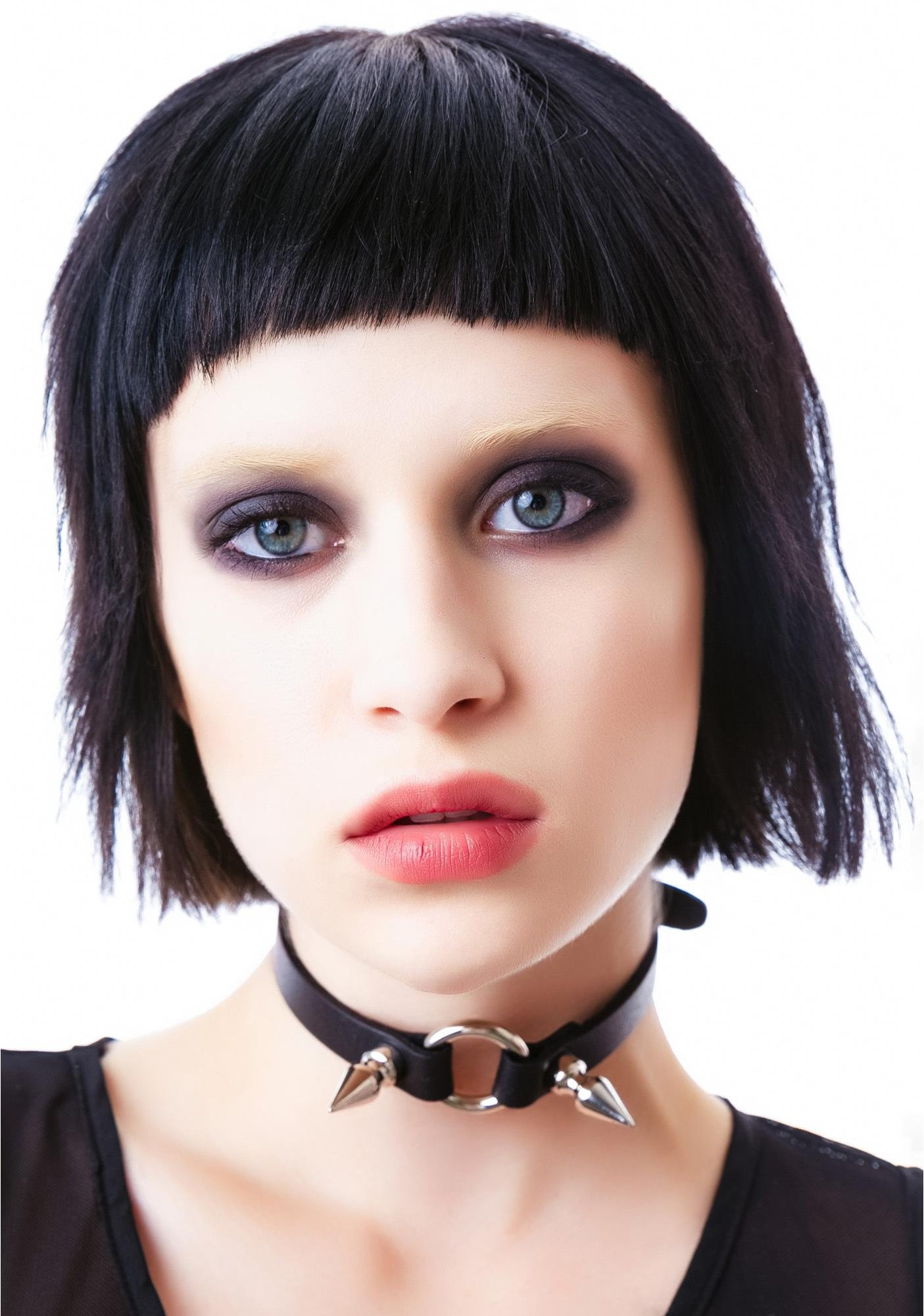 Spiked Fiend O Ring Choker