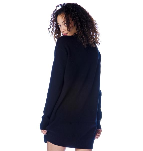 Mad Love Yin Yang Sweater Dress