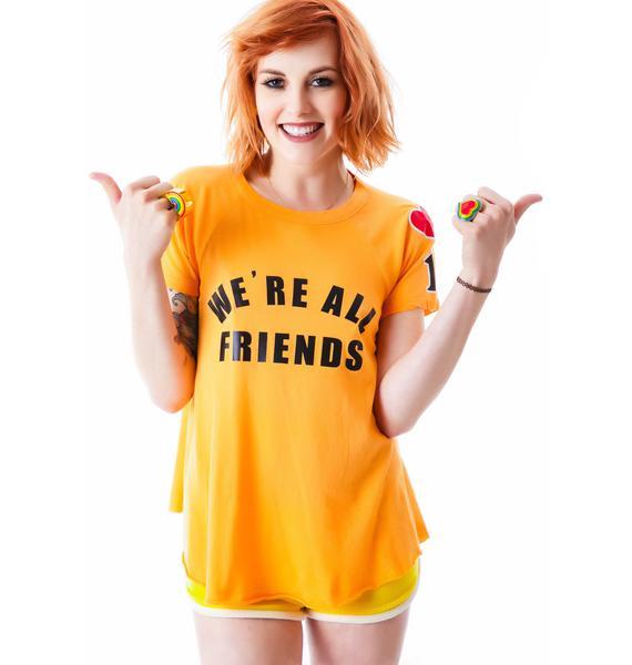 Wildfox Couture We're All Friends Retro Raglan