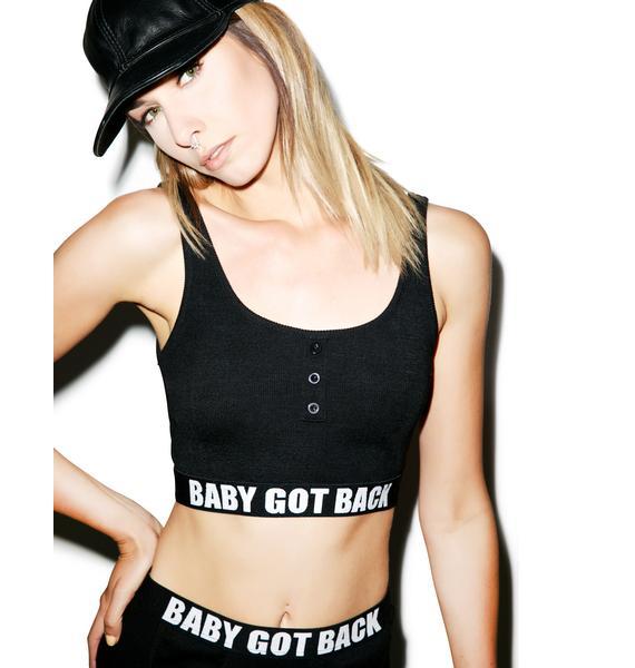 Baby Got Back Bra Top