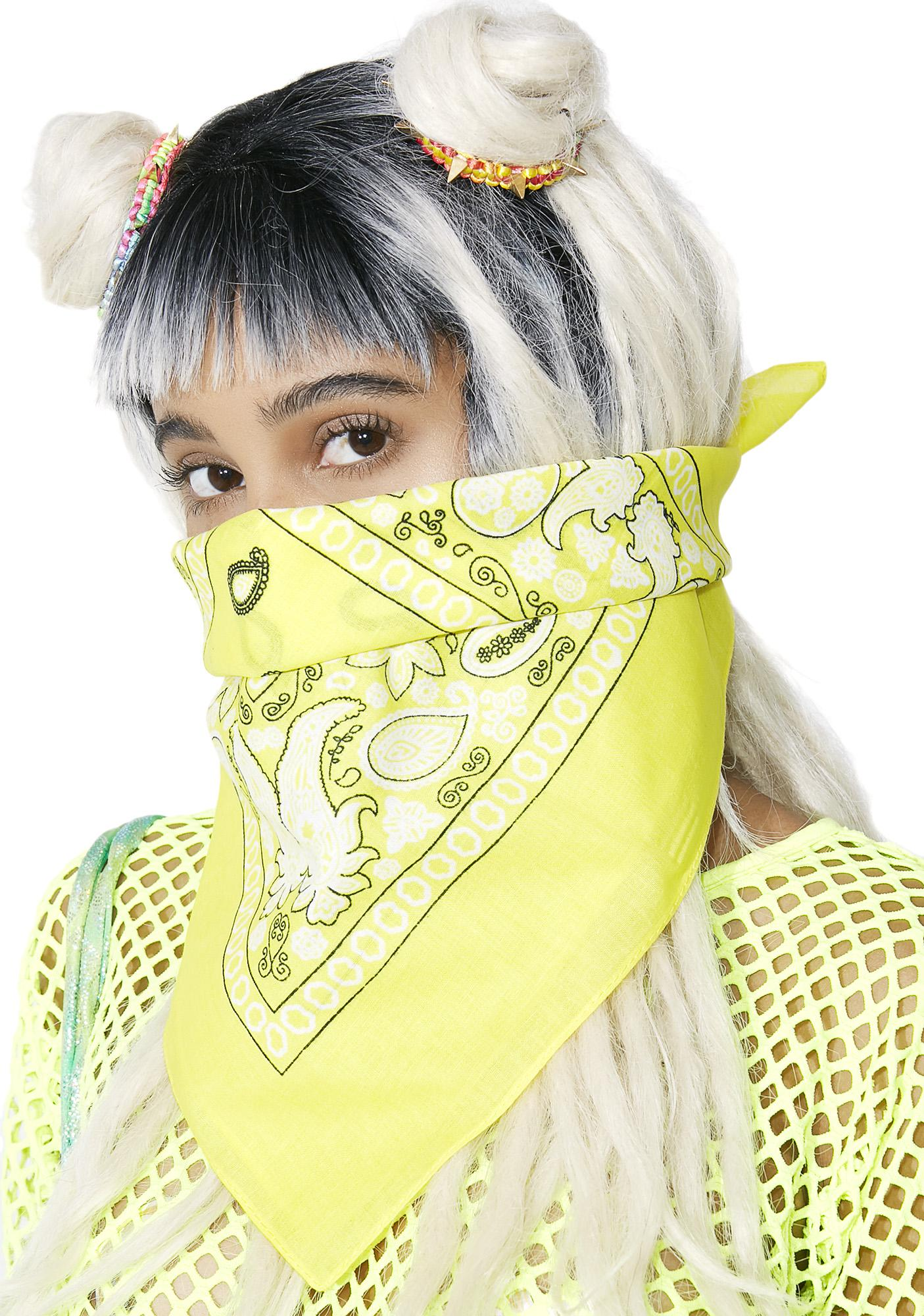 Lemon The Heights Bandana