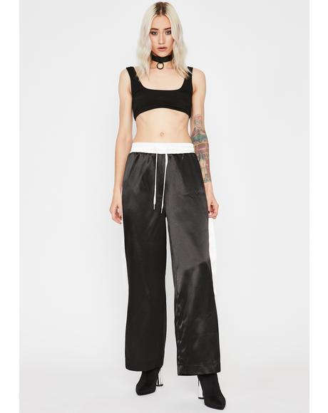Wicked Sweet N Chic Satin Pants