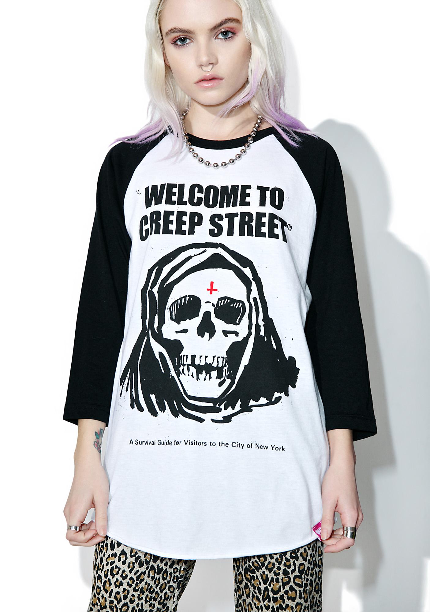 Creep Street Fear City II Raglan