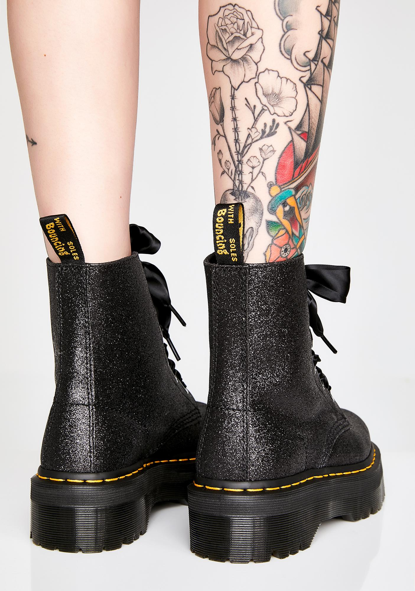 44a0d8e77 Dr. Martens Molly Glitter Boots | Dolls Kill