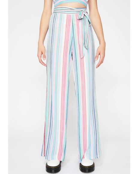 Lyrical Love Stripe Pants