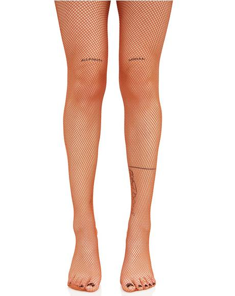Back To Basics Fishnet Tights