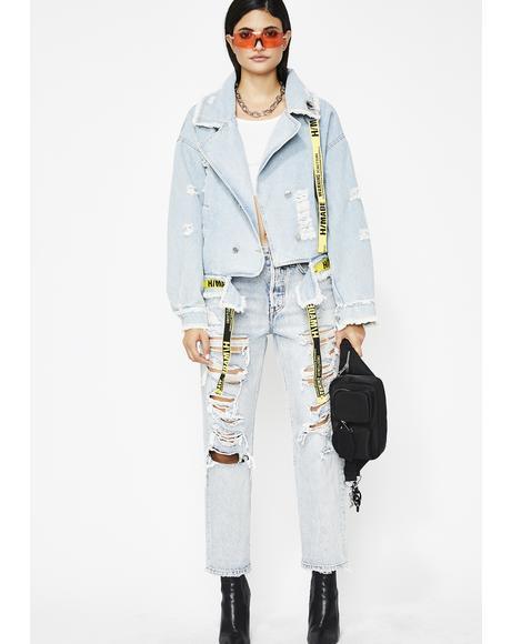 Babe At Werq Denim Jacket
