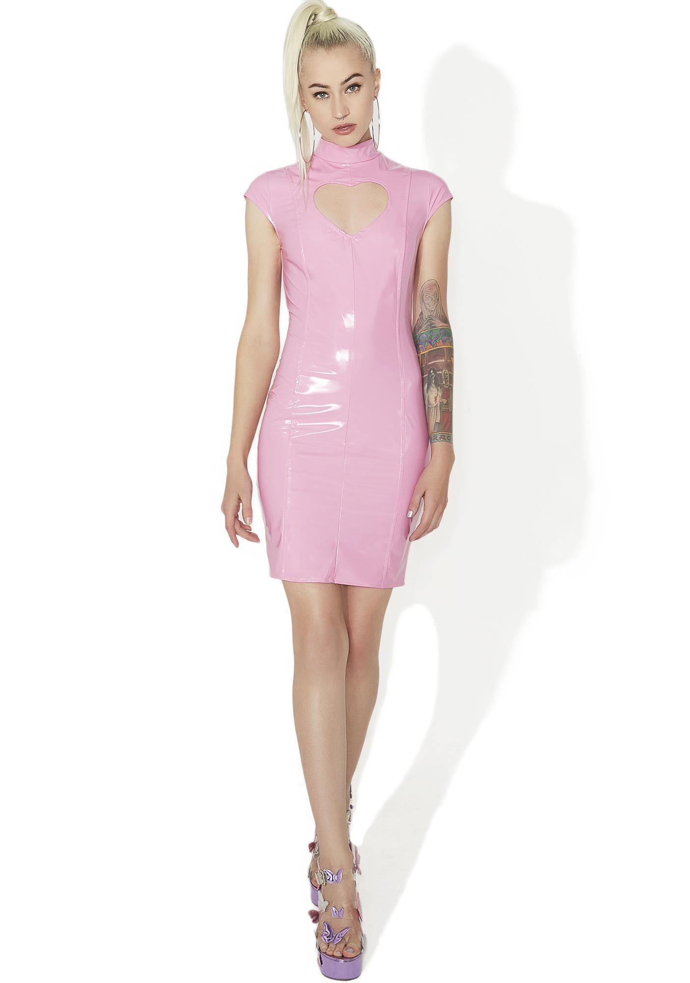 Heartbeatz Cut-Out Bodycon Dress