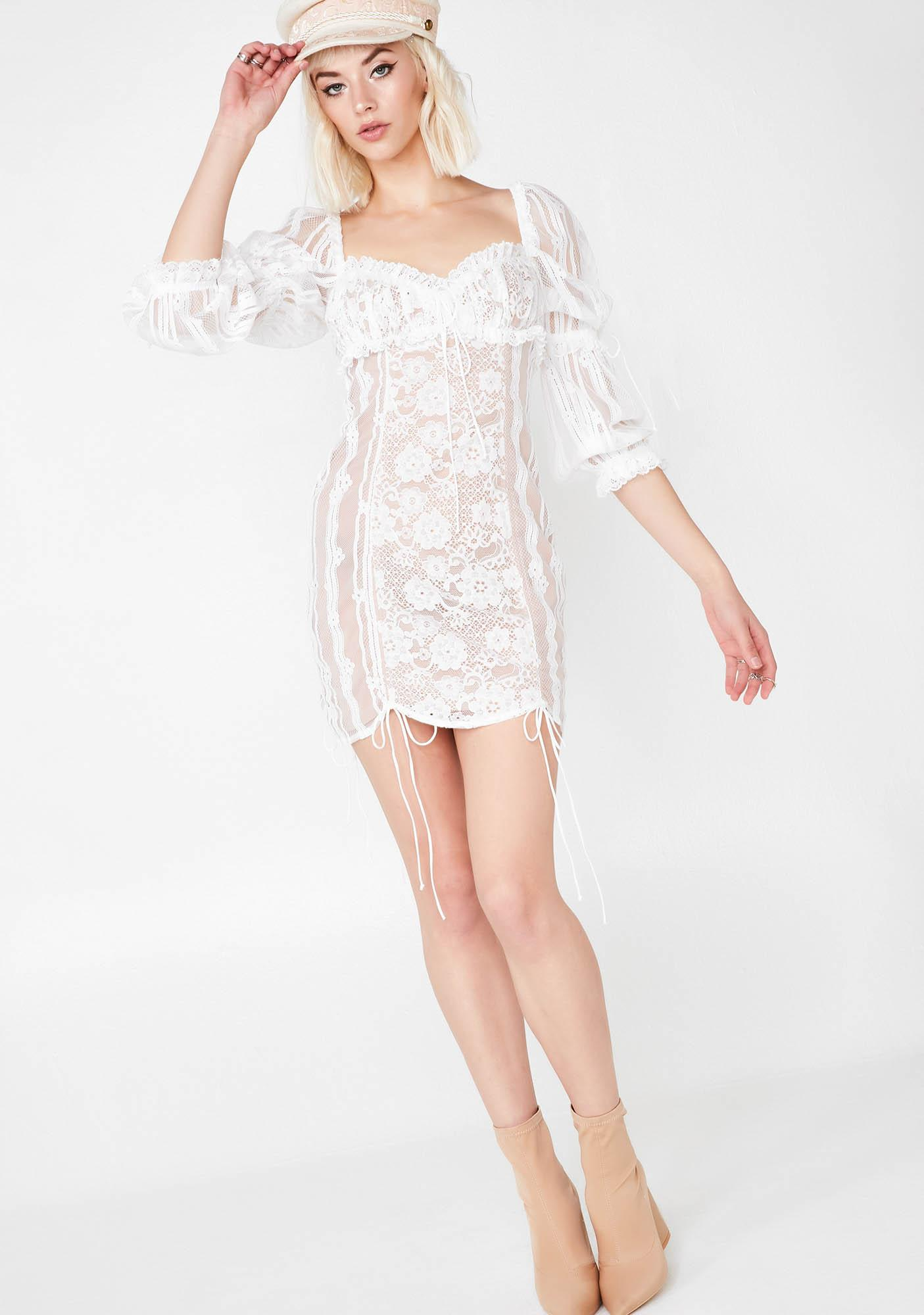 For Love & Lemons Pure Monroe Mini Dress