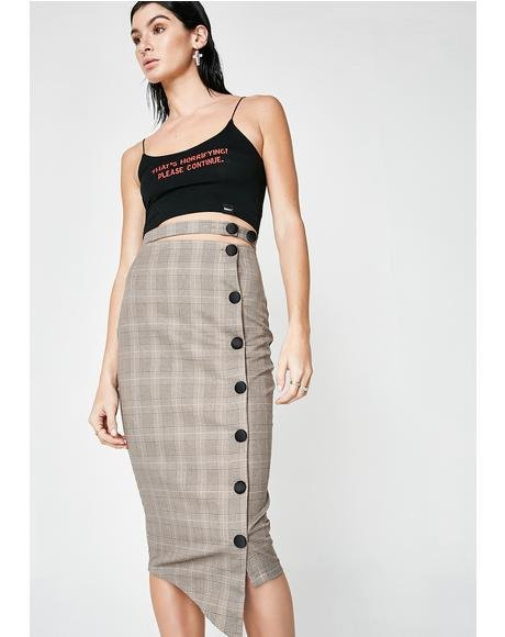 Can't Stop, Won't Stop Pencil Skirt