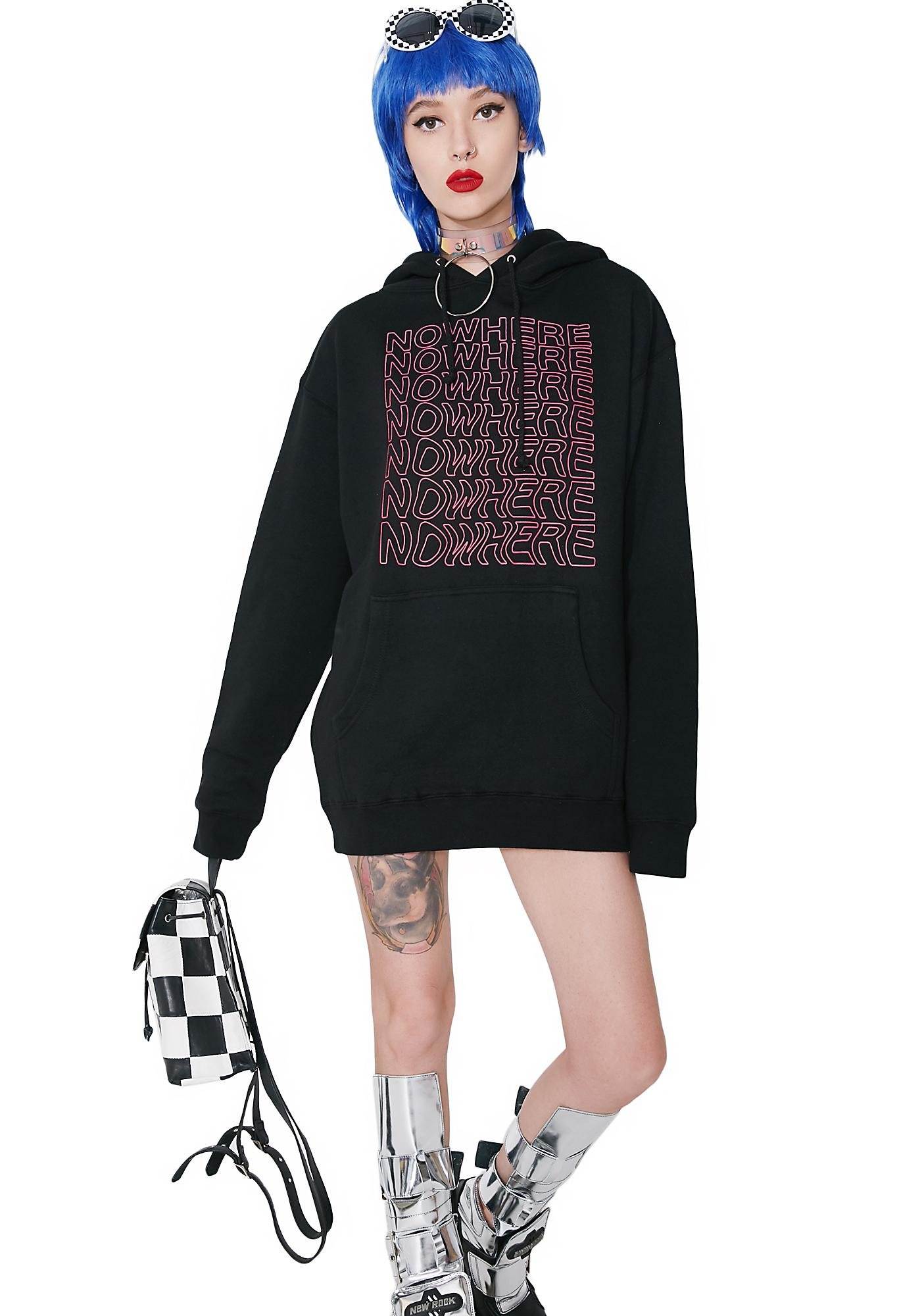 NO WH3R3 Nowhere Hoodie