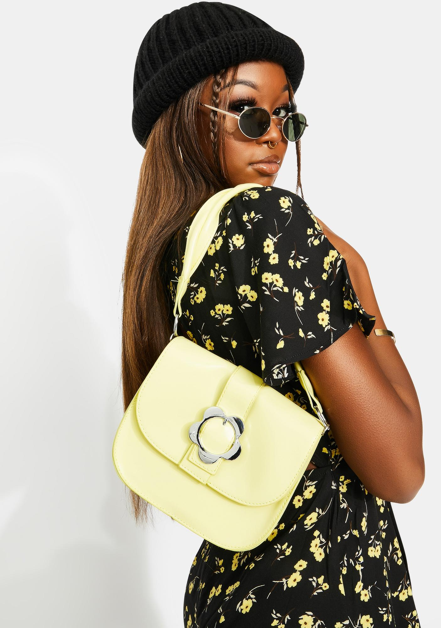 Flower Power Vibes Shoulder Bag