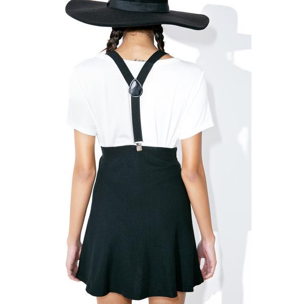 American Deadstock Grip Of Death Suspender Skirt