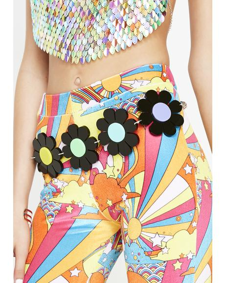 Throwback Flower Power Belt