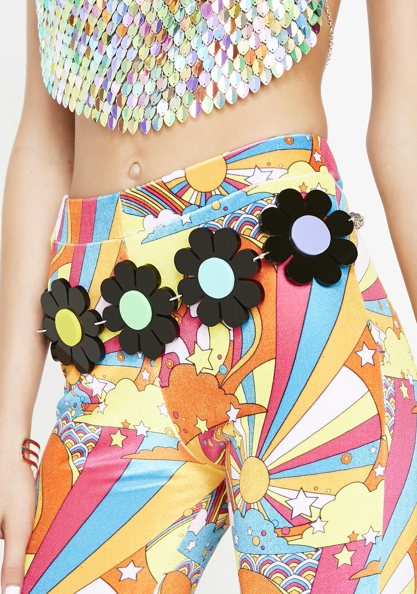 Marina Fini Throwback Flower Power Belt
