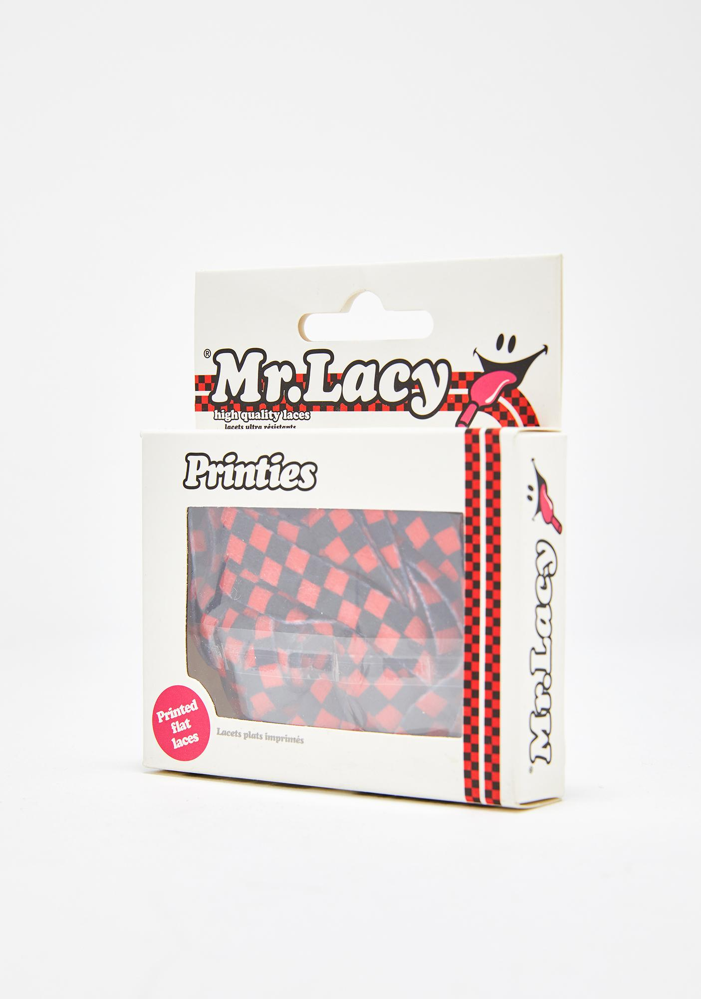 Mr. Lacy Red Checkered Printies