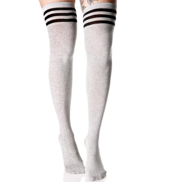 Kickin It Thigh High Socks