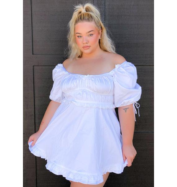 For Love & Lemons Plus Jackson Mini Dress