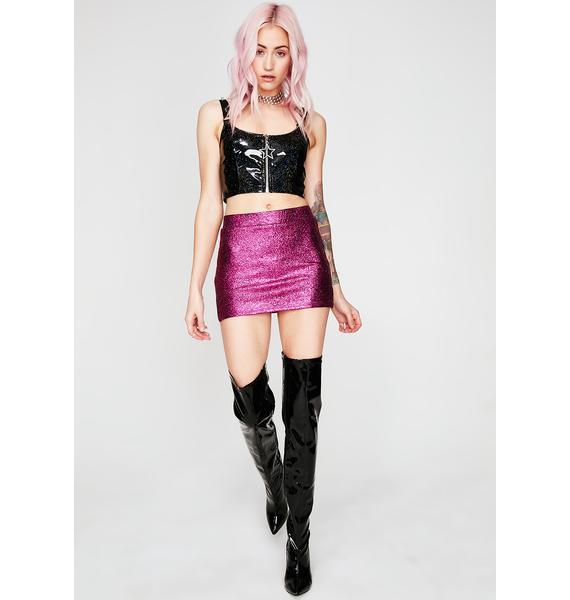 Sweet Always Shinin' Mini Skirt