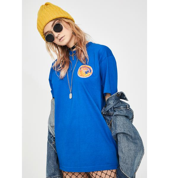 Playdude Blue Deadly Graphic Tee