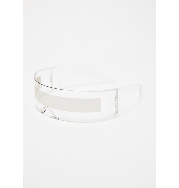 Replay Vintage Sunglasses Robo Raver Shield Sunglasses