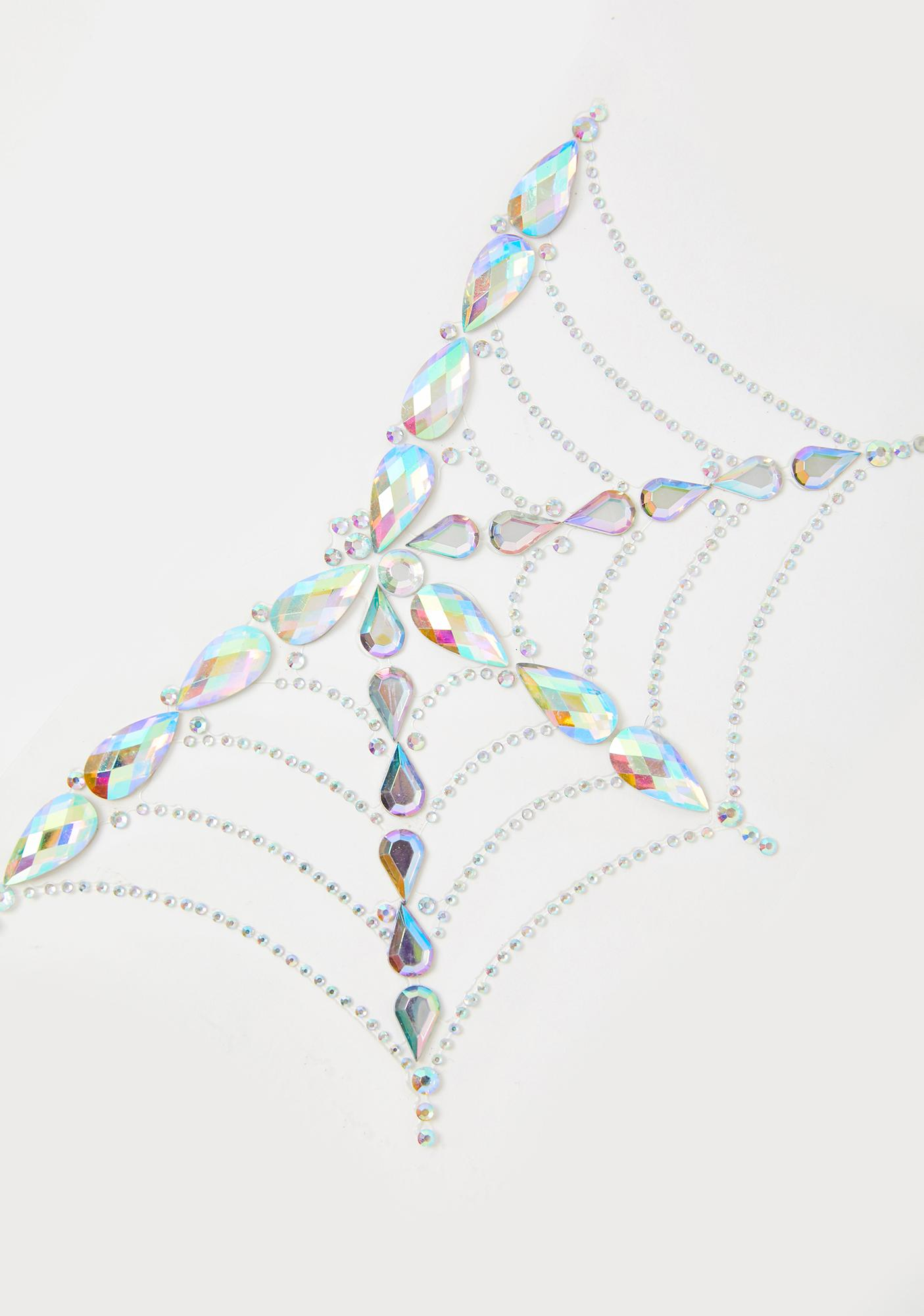 Go Get Glitter Spider Web Body Jewel