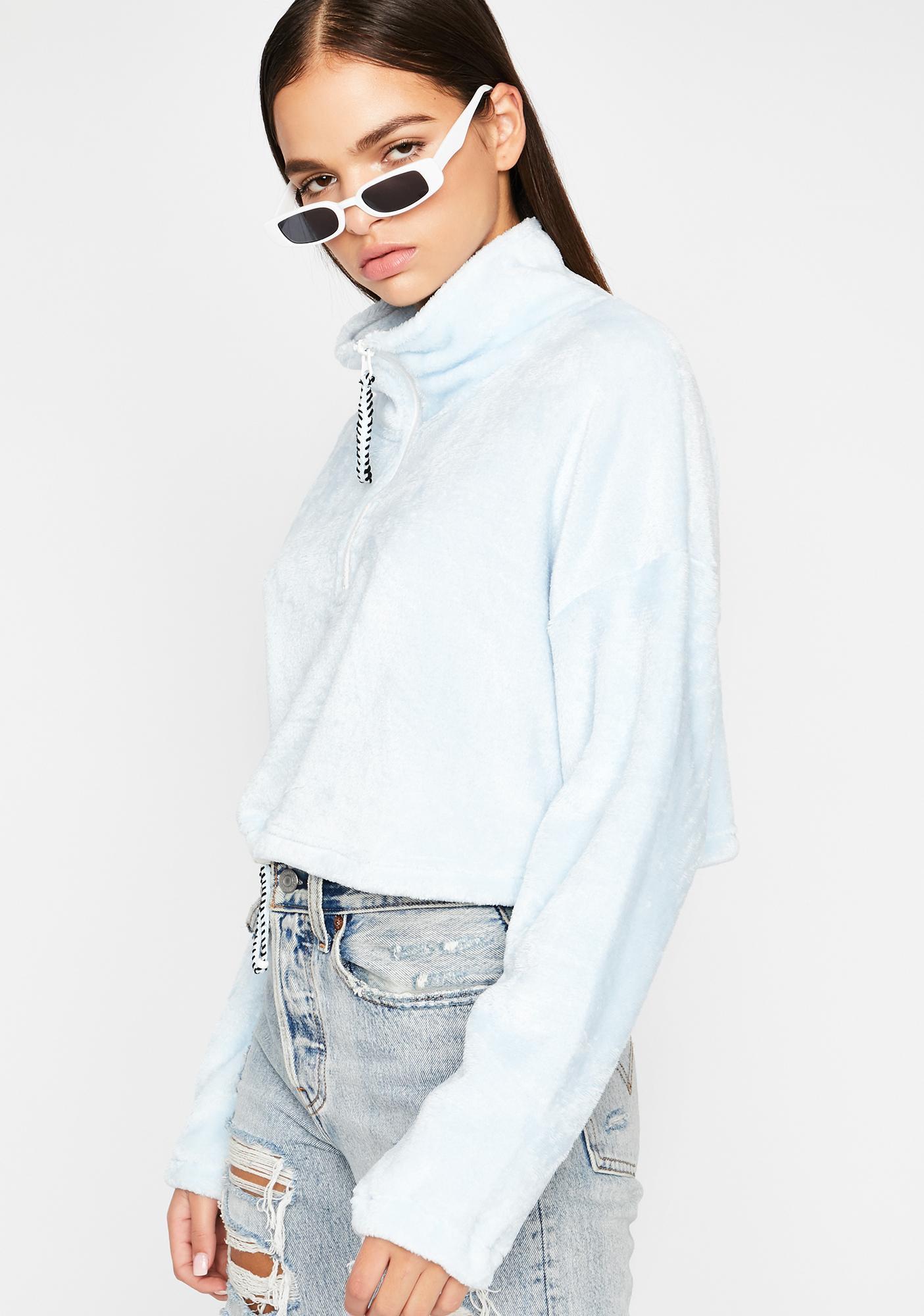 Easy Goin' Crop Pullover