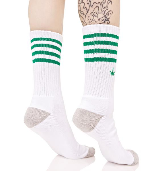 HUF Traction 420 Crew Sock