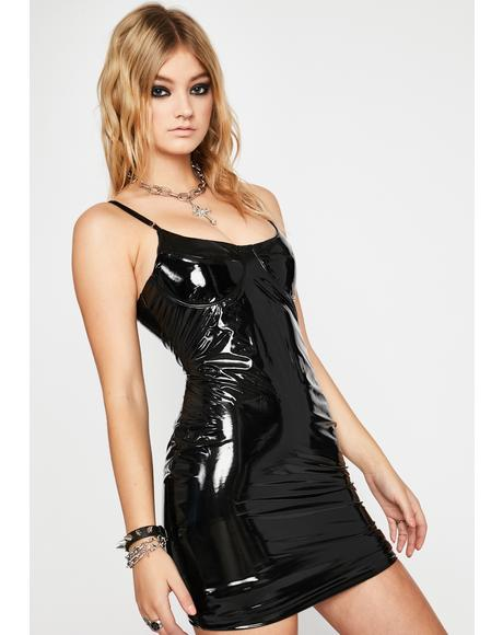 Verified Vixen Vinyl Dress