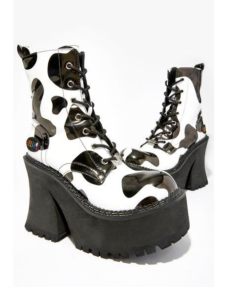 Animal Behavior Platform Boots