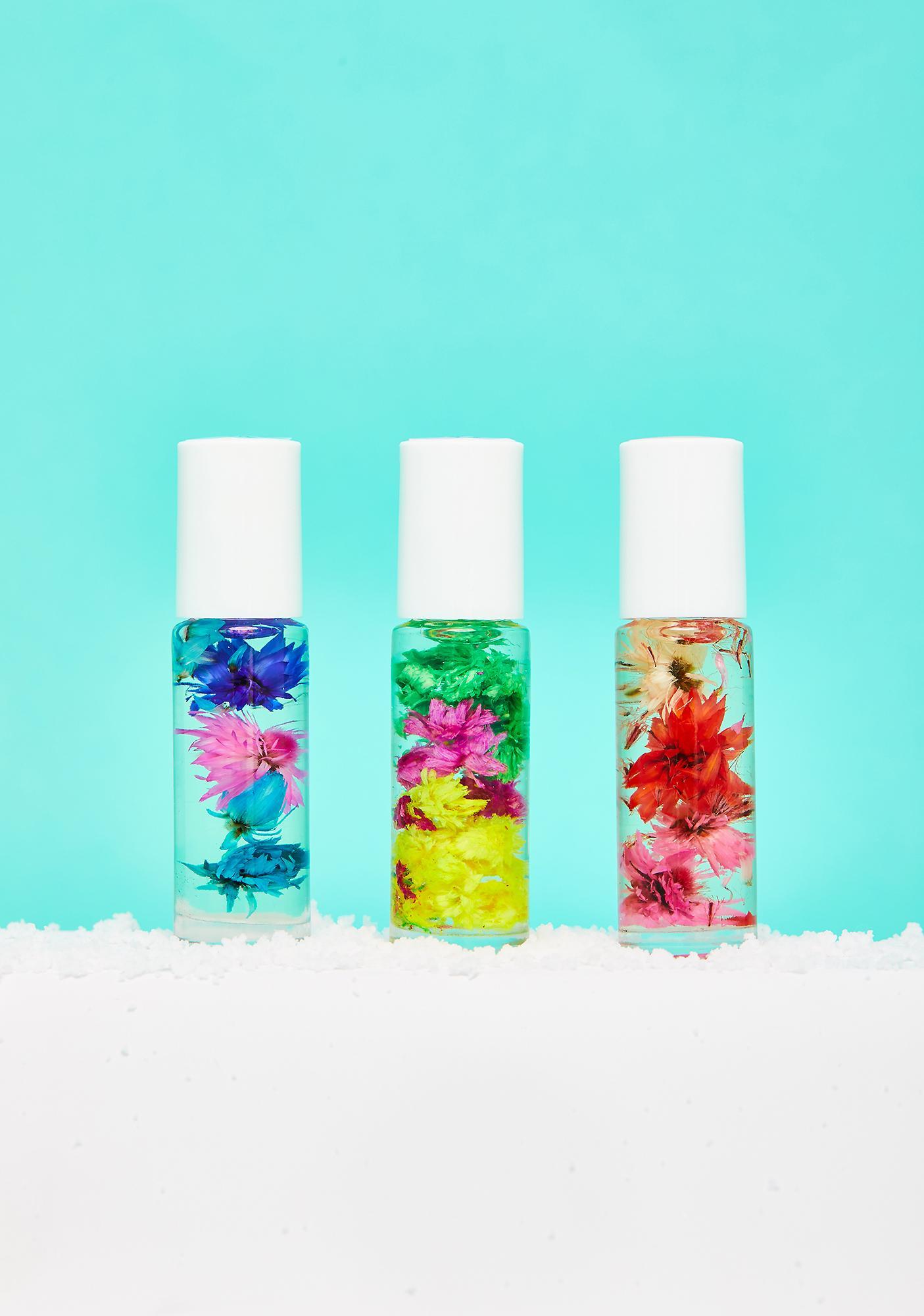 Blossom Mini Roll-On Perfume 3 Piece Gift Set