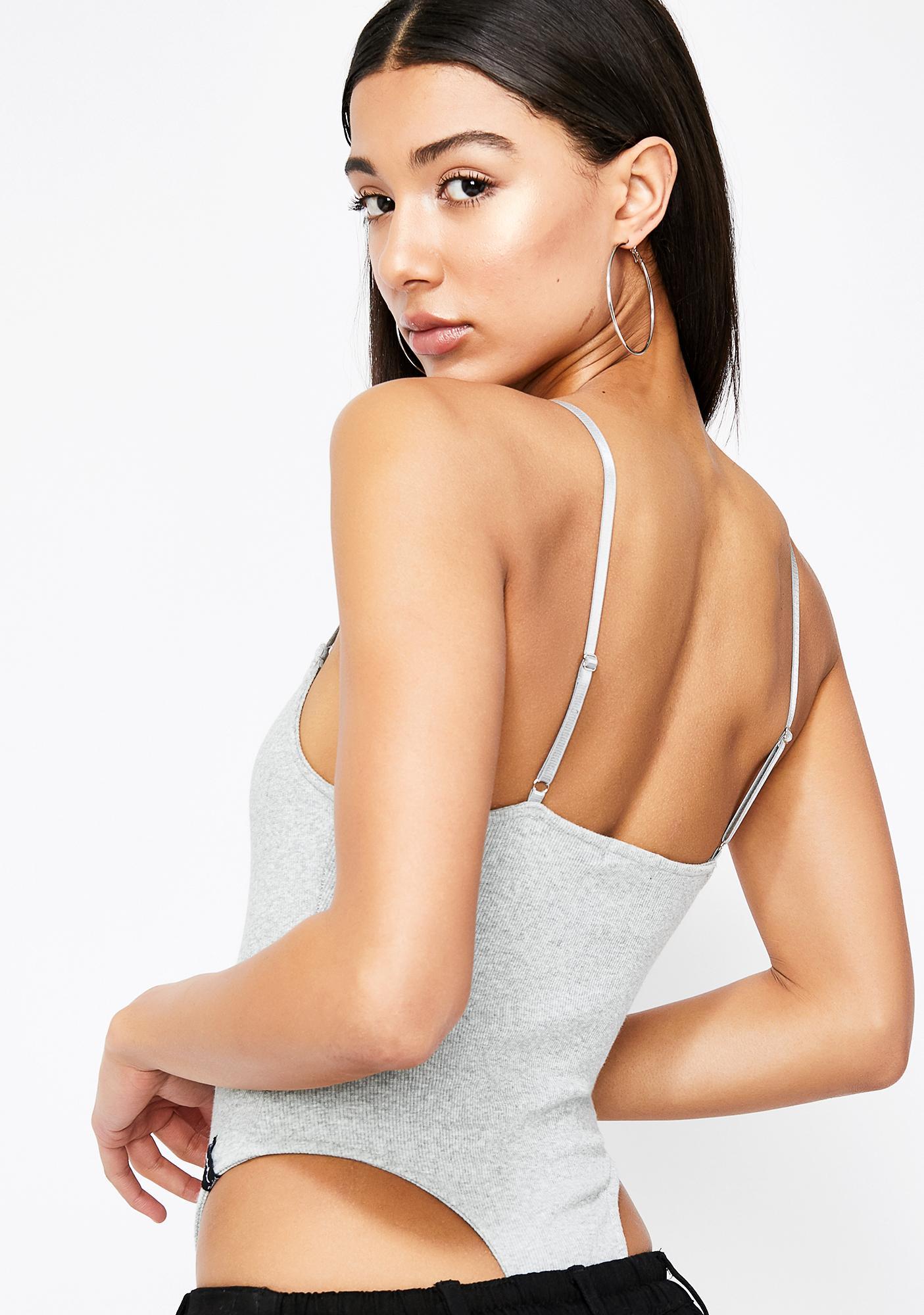 Poster Grl Supermodel Ribbed Bodysuit