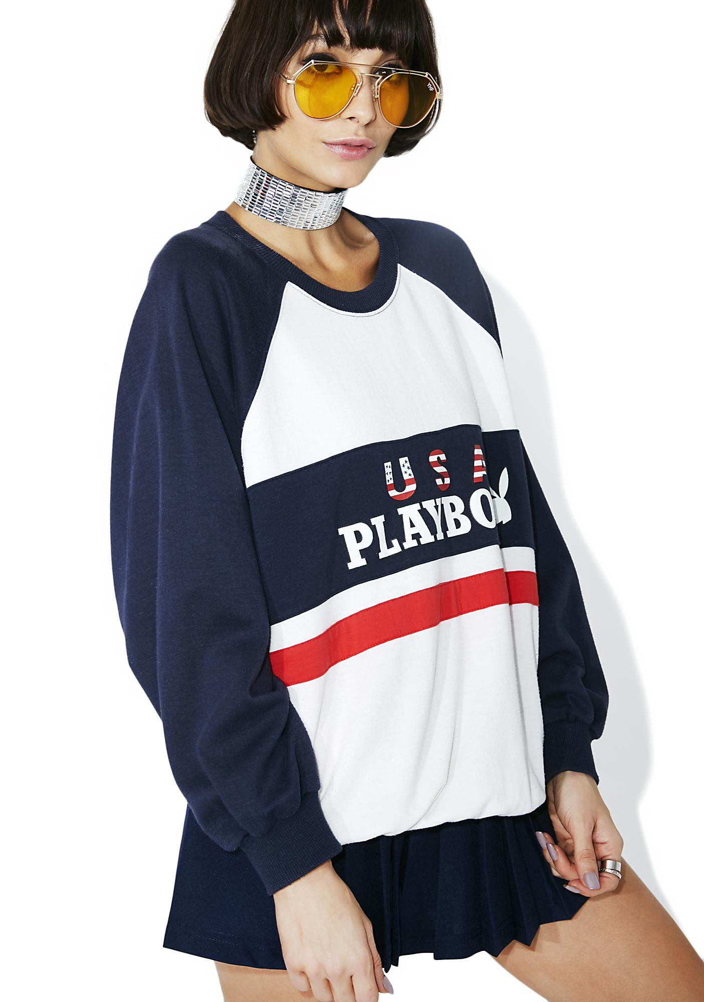 Vintage Playboy Crewneck Sweater