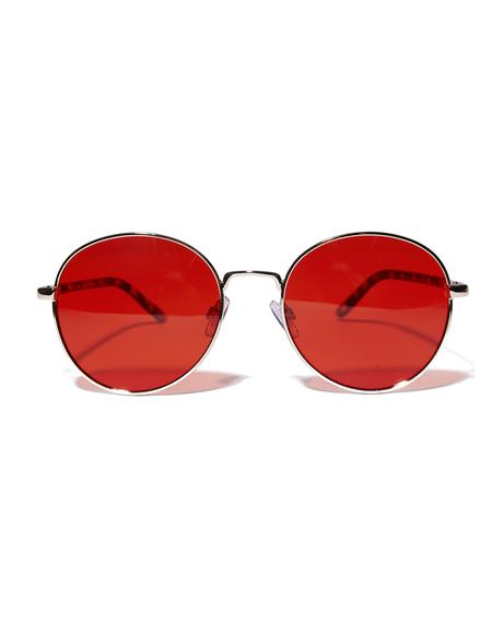 City Gal Round Sunglasses