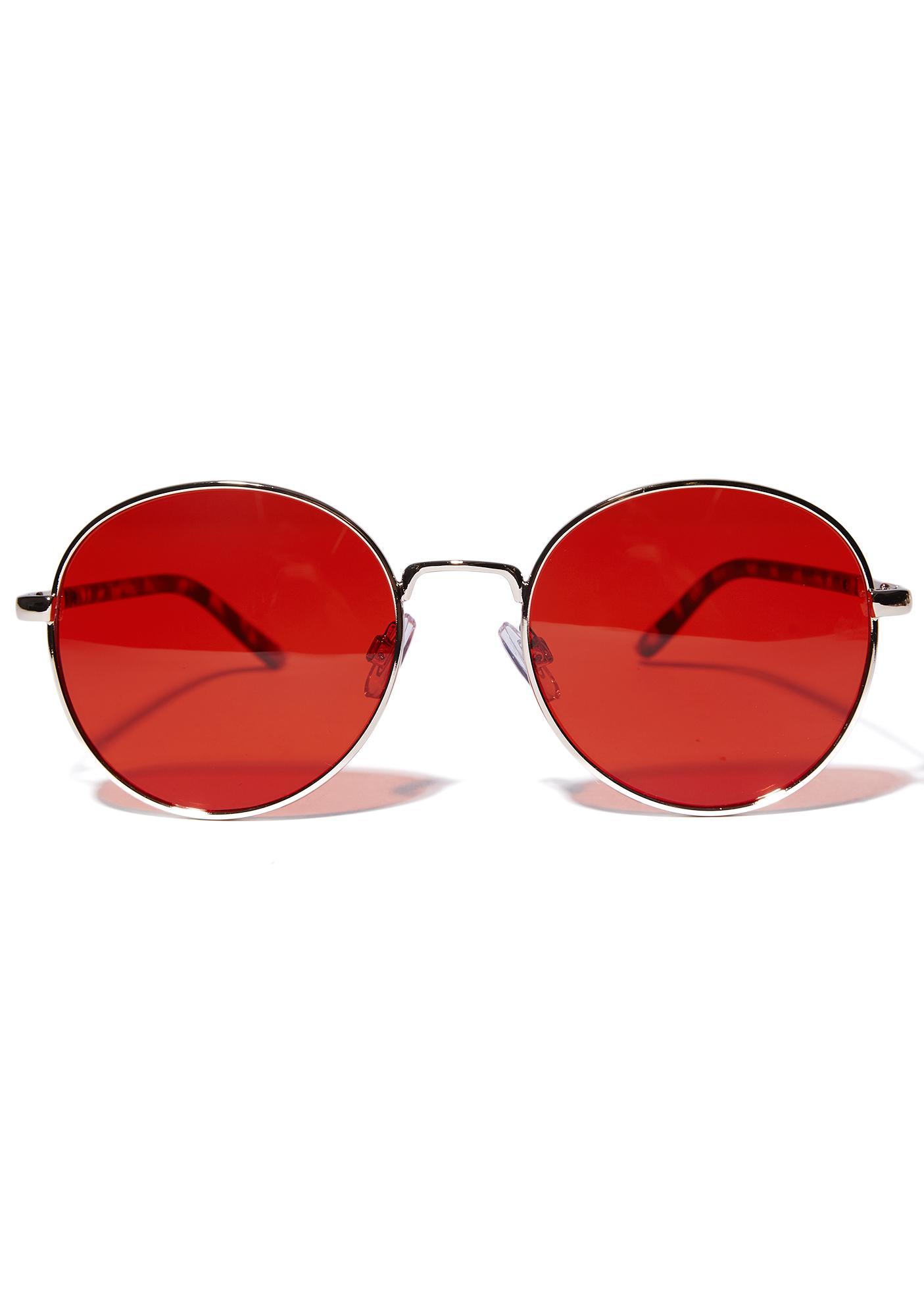City Gal Round Sunglasses