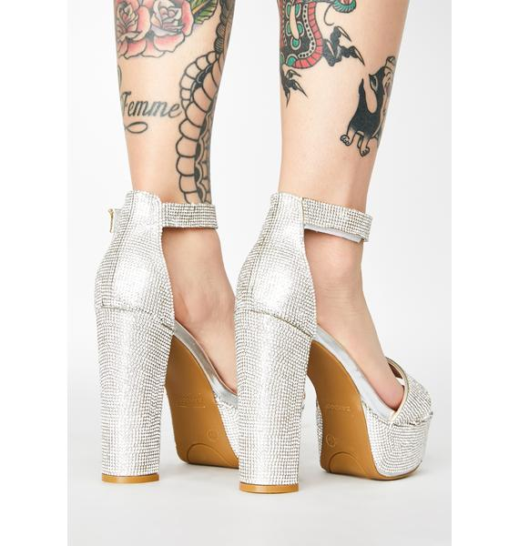 Gurl's Best Friend Platform Heels