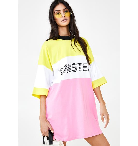 The Ragged Priest Twisted T-Shirt Dress