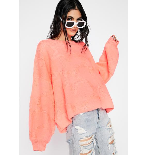 Miss Comfy Cute Knit Sweater