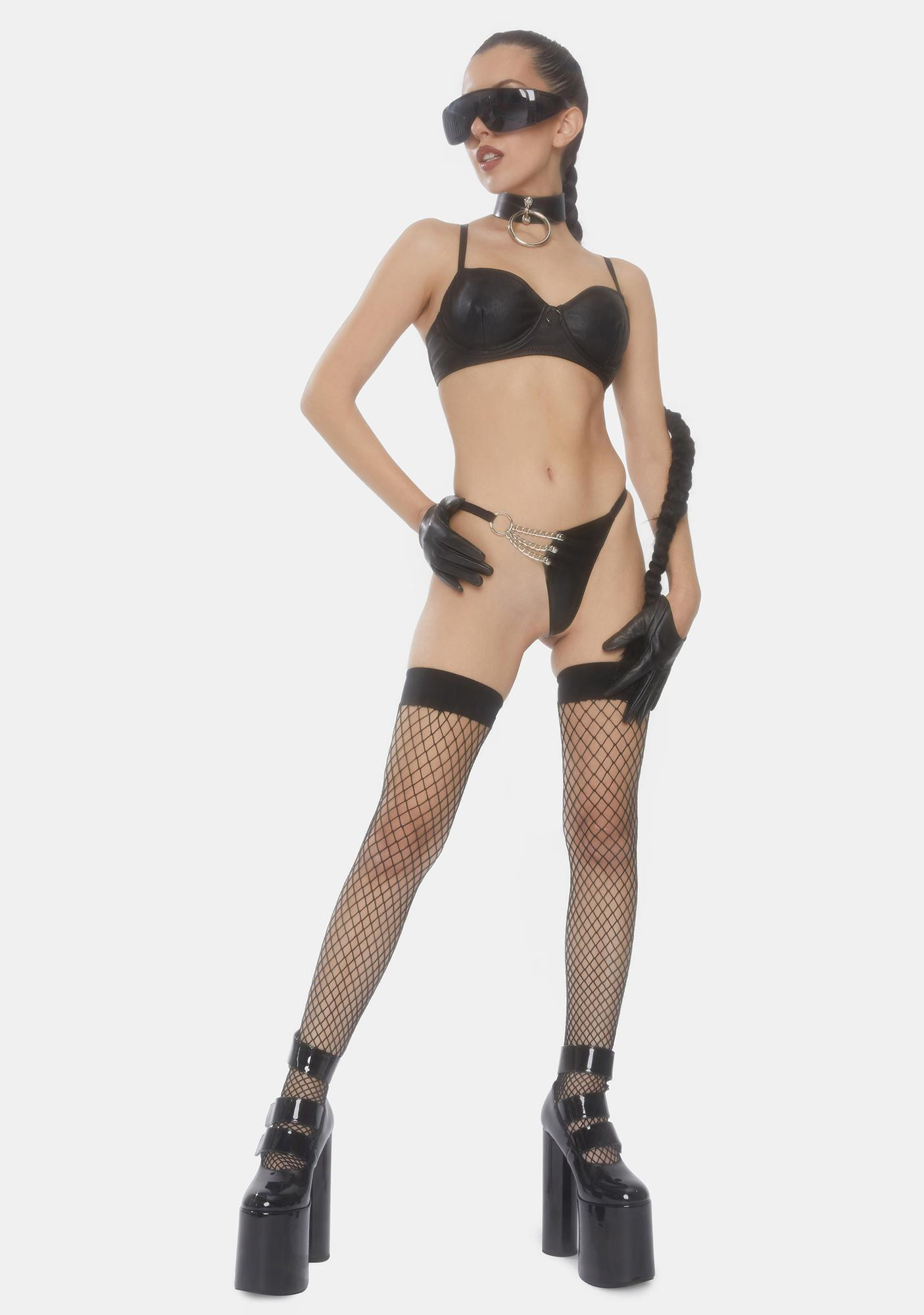 Takin' Charge Leather G-String