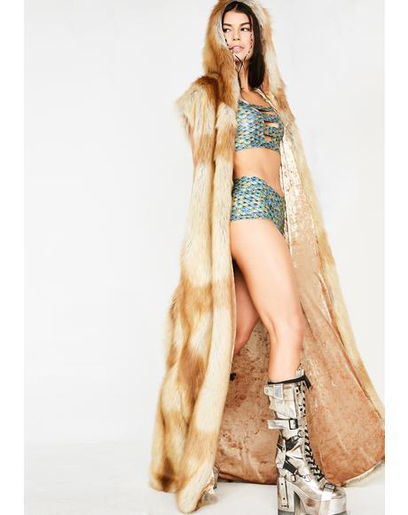 Foxxy Posse Fur Duster