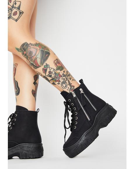Cyber Militia Combat Boots